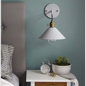 IYoee wall scone lamp WHITE